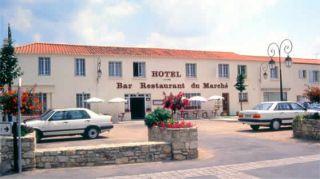 Hôtel du Marché à Beauvoir sur mer
